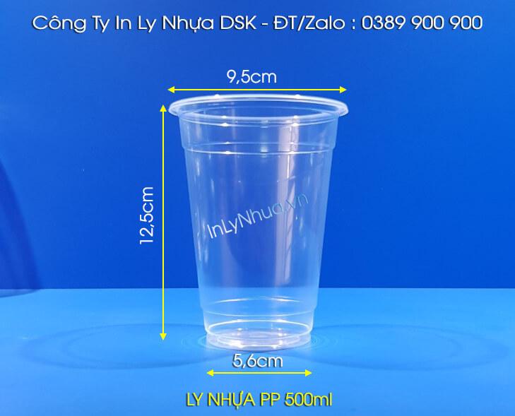 Ly nhựa 500ml
