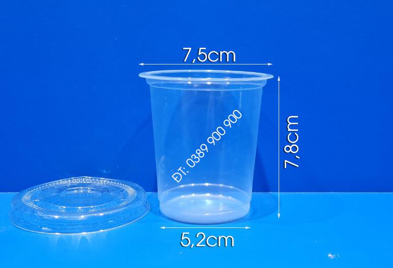 Ly nhựa 230ml